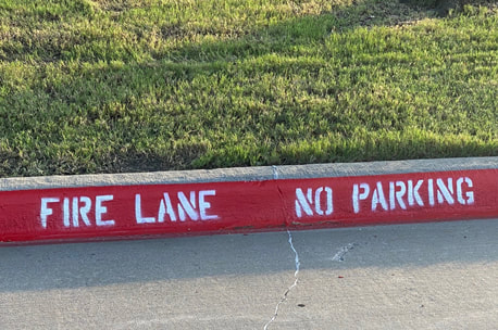 Fire Lane Striping and Curb Painting Houston, Texas